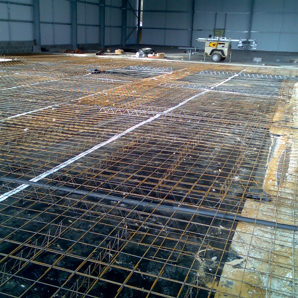Steel works AJH Groundworks Construction