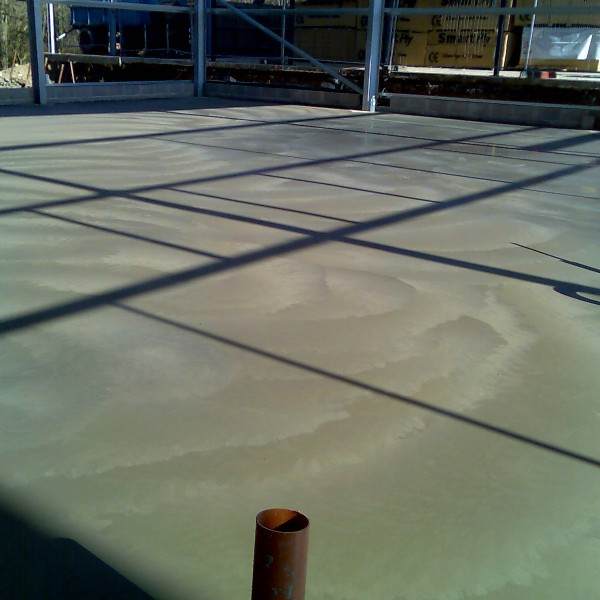 Concrete by AJH Groundworks construction