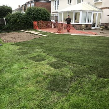 Hayling Island Landscaping work